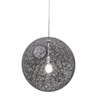 "Black Pendant Light ""Random Light"" by Moooi"