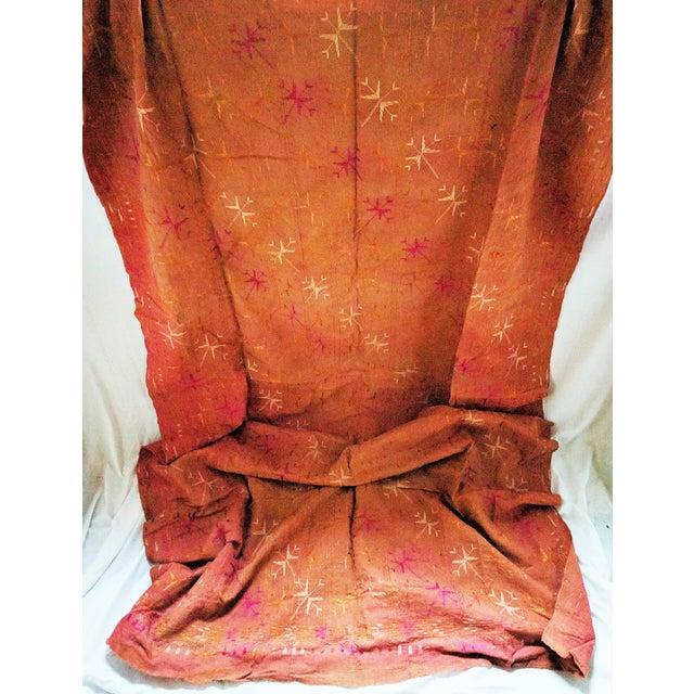 Vintage Indian Phulkari Textile - Image 3 of 4