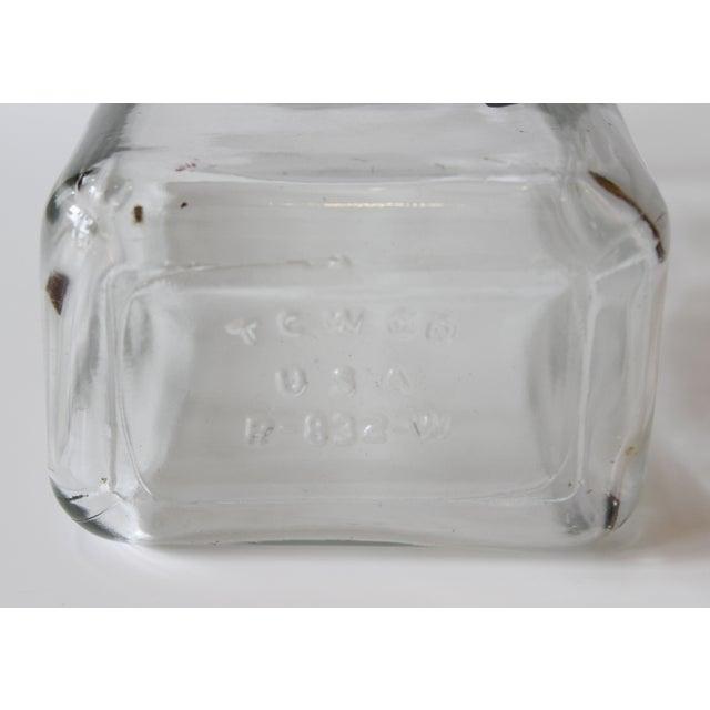 "Vintage TC Wheaton ""Gin"" Liquor Bottle - Image 4 of 4"