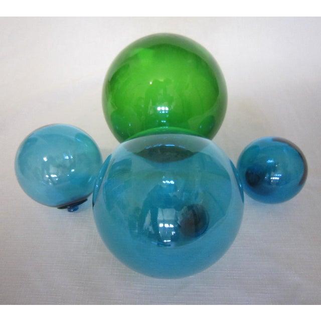 Vintage Glass Fishing Floats - Set of 4 - Image 4 of 4