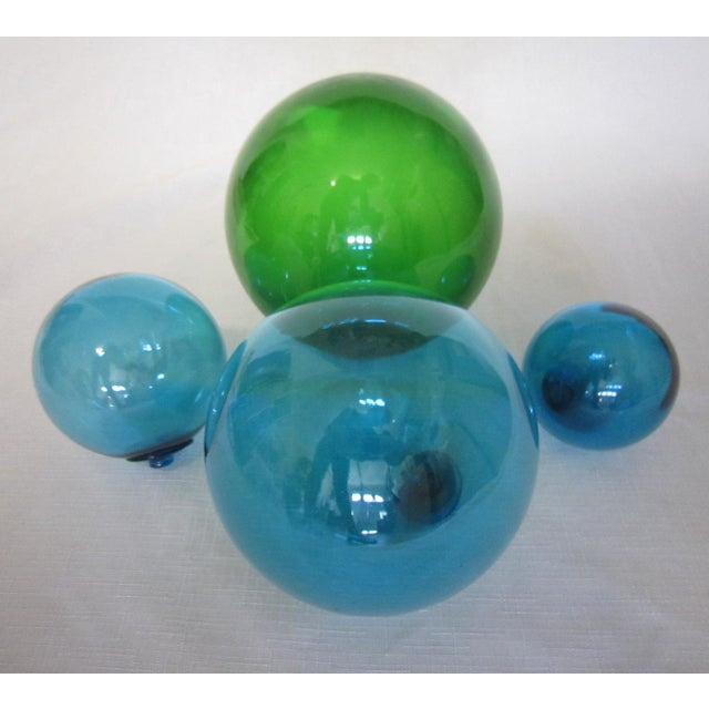 Image of Vintage Glass Fishing Floats - Set of 4