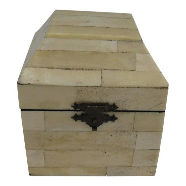 Chinese Bone Inlay Box - Image 2 of 9