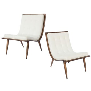 Pair of Carter Brothers Scoop chairs