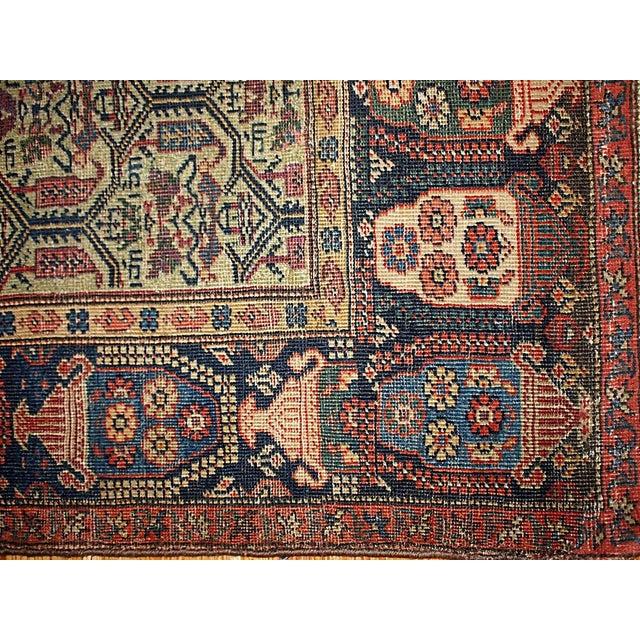 1860s Hand Made Antique Persian Farahan Rug 4 3 215 6 4