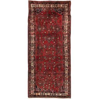 """Vintage Hamadan Wool Area Rug - 3'8"""" X 8'6"""""""
