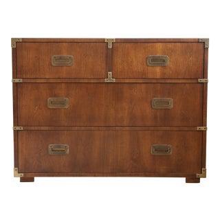 Henredon Campaign Wooden Dresser
