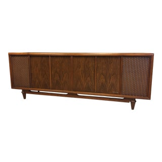 Mid Century Modern Magnavox Console Record Player