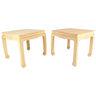 Mid-Century Modern End Tables by Baker Furniture Company