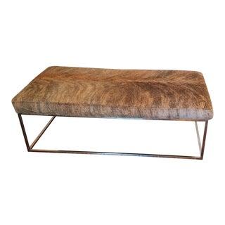 Custom African Nguni Hide Coffee Table