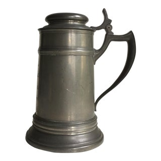 1899 Tennis Trophy Pewter Stein