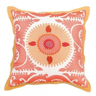 Embroidered Moroccan Pillow