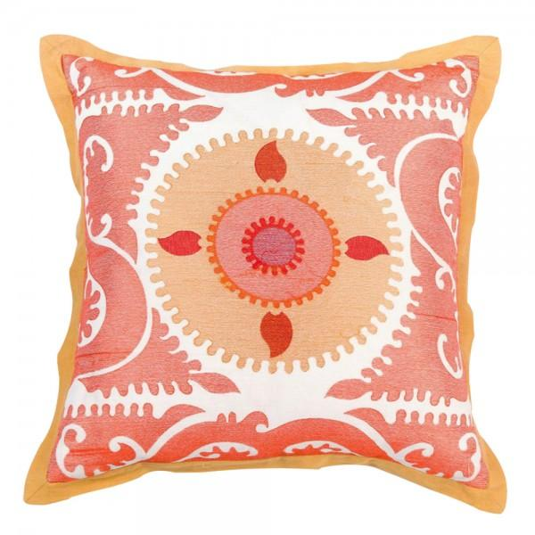 Image of Embroidered Moroccan Pillow