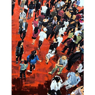 """People on Red Carpet"" Painting"