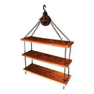 Industrial Chain Hoist Shelves