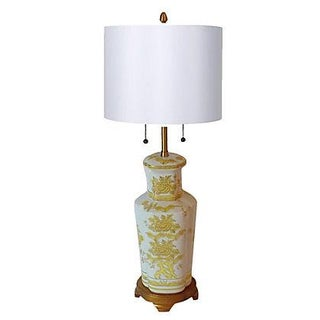 Grande Asian Porcelain Lamp