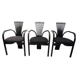 "Torstein Nilsen for Westnofa ""Totem"" Chairs - Set of 3"