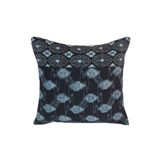 African Indigo Pillow
