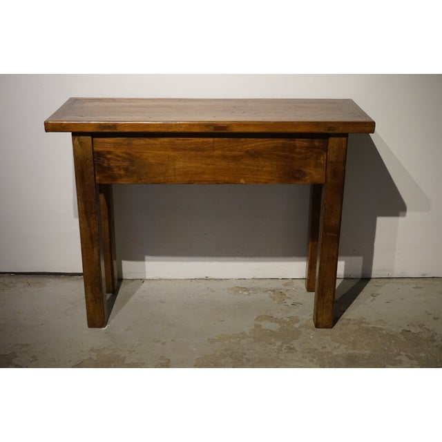 Image of Solid Wood Hall Console Table