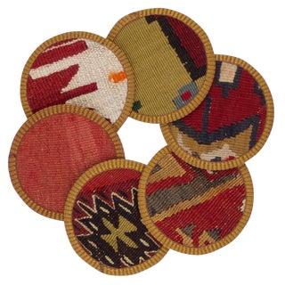 Sabiya Kilim Coasters - Set of 6