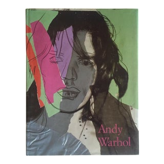 """Andy Warhol Commerce Into Art"" Vintage 1990 1st Edition Hardcover Art Book"