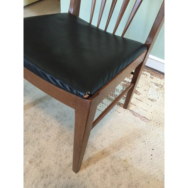 Image of John A. Colby & Sons MCM Walnut Desk Chair