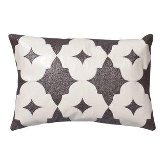 """Piper Collection Metallic Linen """"Wynn"""" Pillow"""