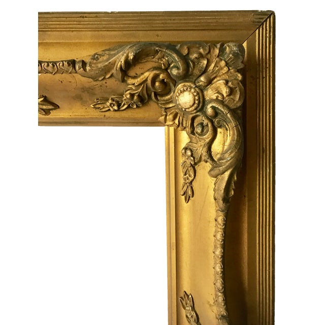 Antique Gilt Carved Picture Frame - Image 2 of 5