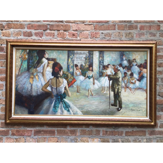 "Edgar Degas ""The Dance Class"" Reproduction - Image 2 of 11"