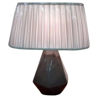 Gray Delta Table Lamp