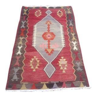 Vintage Turkish Anatolian Rug - 2′11″ × 4′8″