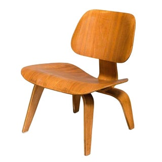 Eames Bentwood Low Chair in Medium Finish
