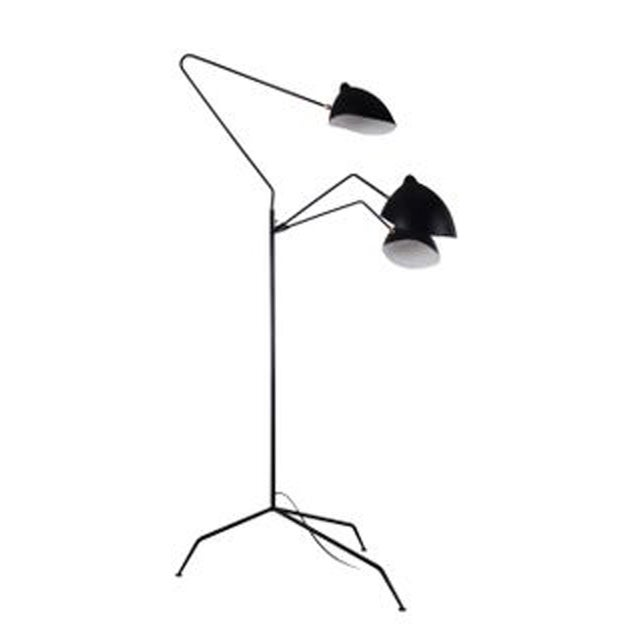 Stilnovo Holstebro Modern Black Floor Lamp - Image 3 of 4