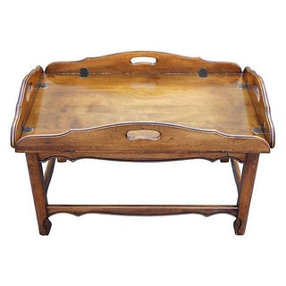 Midcentury Modern Tray Top Coffee Table