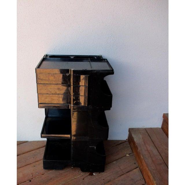 Taboret Mid-Century Modern Black Cart - Image 7 of 10