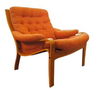 Norwegian Modern Lounge Chair