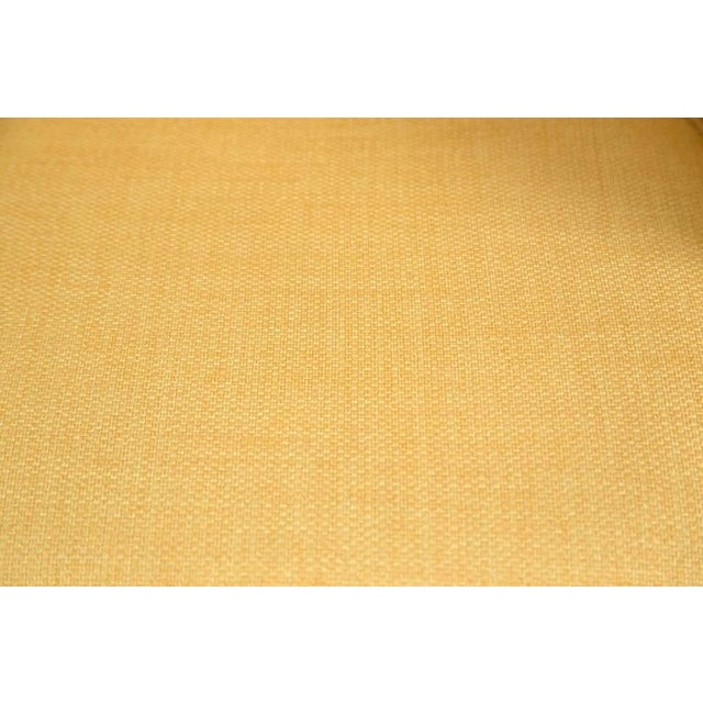 Knoll Desk Chair in Yellow Microfiber - Image 8 of 9
