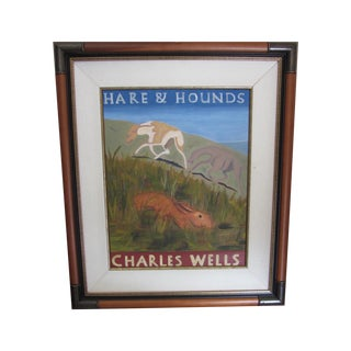 """Painting for """"Hare & Hounds"""" Pub in England"""