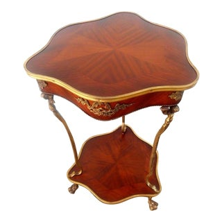 Vintage French Louis XVI Rococo Style Accent Table