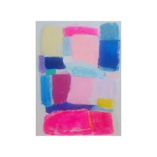 Susie Kate Colorful, Original Abstract Painting