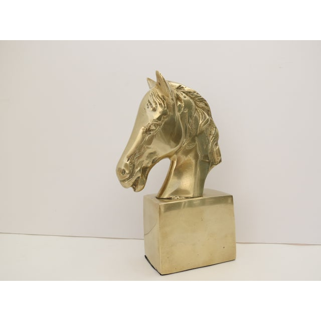 Brass Horse Bust - Image 3 of 6
