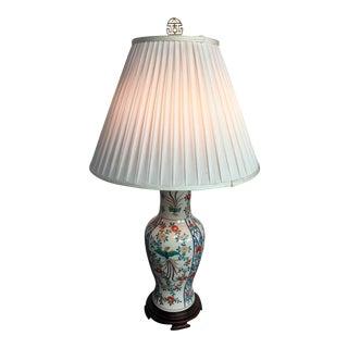 Vintage Ornate Ceramic Lamp