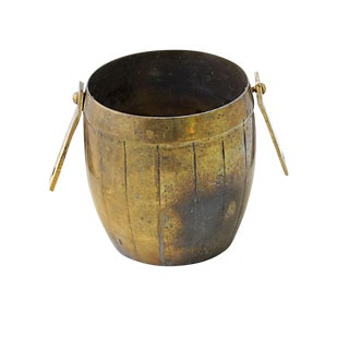Vintage Brass Barrel