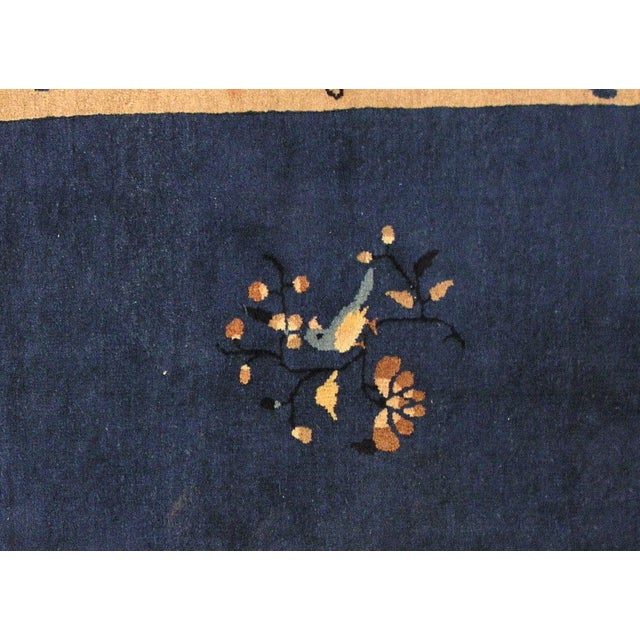 1900s Hand Made Antique Peking Chinese Rug - 3' X 5' - Image 4 of 9