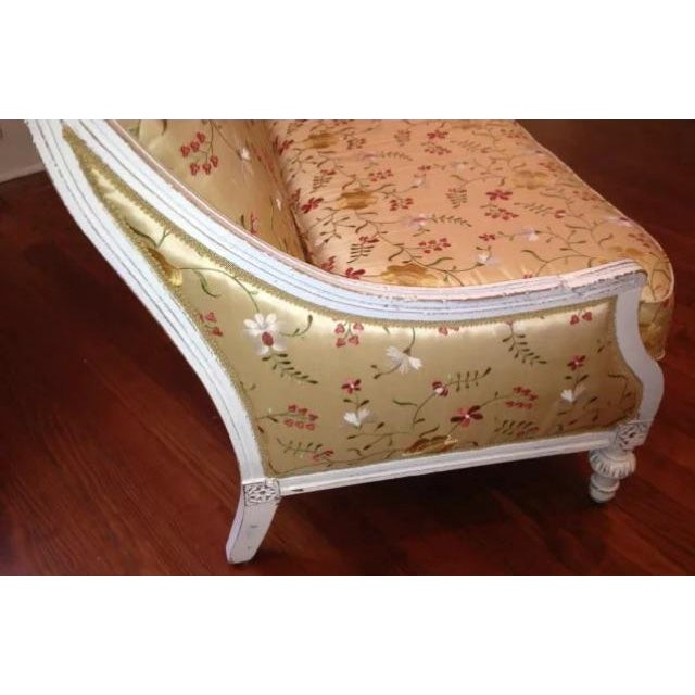Antique Louis XVI Style French Settee - Image 6 of 9