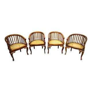 Bauer Barrel Chairs - Set of 4