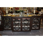 Image of Modern Mirrored Buffet - 3 Pieces