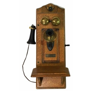 1920s North Electric Wall Telephone