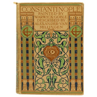 Constantinople: Art Nouveau Antique Child's Book
