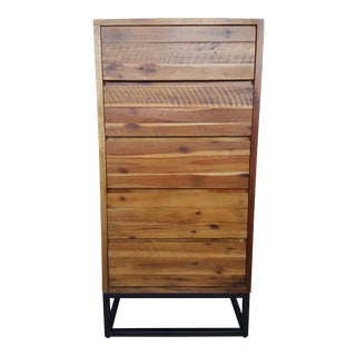 West Elm Acacia Wood Dresser