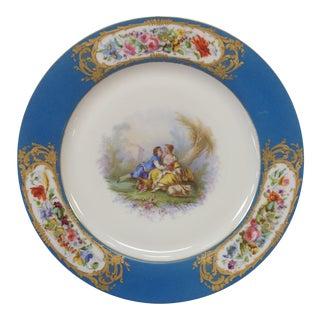 Sevres Plate, Artist Signed
